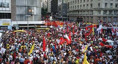 """تصویر """"اجلاس اجتماعی جهان"""" :  بر ضد  فقر،  نو لیبرالیسم و نظامی گری"""