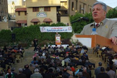 """تصویر مصاحبه """"نامه مردم"""" با رفیق سلام علی"""