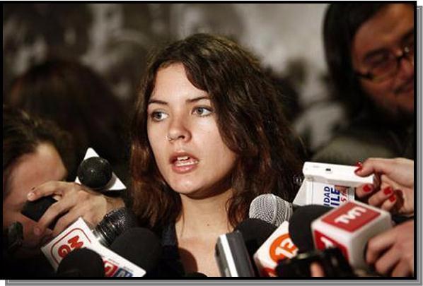 تصویر مبارزه جوانان شیلی بر ضد نولیبرالیسم
