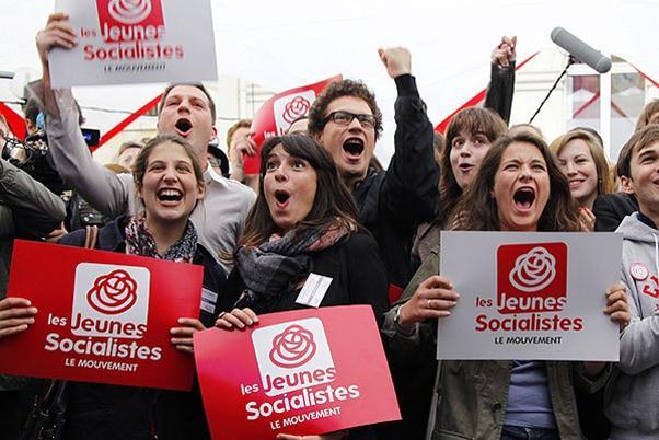تصویر پیروزی چپ در فرانسه
