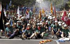 تصویر قطعنامۀ سیاسی حزب کمونیست اسپانیا: بهجای بانکها، مردم و خدمات دولتی را نجات دهید!