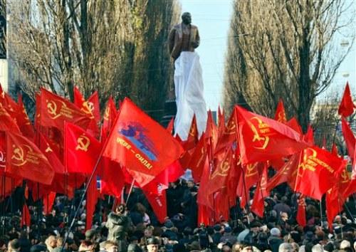تصویر بیانیة حزب های کمونیست و کارگری جهان  در همبستگی با اوکراین
