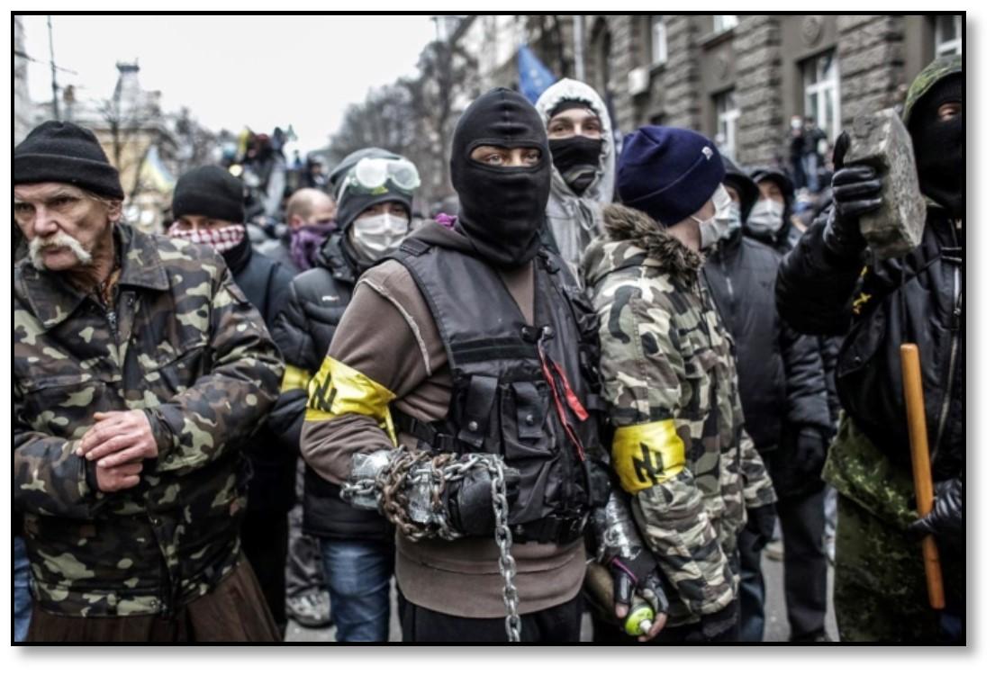 تصویر راستِ افراطی، در آستانة بهدست گرفتنِ قدرت در اوکراین