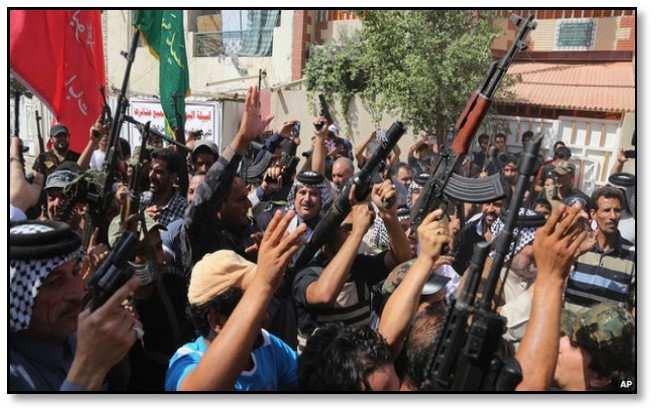 تصویر فراخوان حزب کمونیست عراق برای برگزاری فوری یک همایش ملّی به منظور مقابله با تروریسم