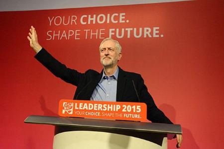 تصویر سوسیالیستی بی پروا در رأس  حزب کارگر بریتانیا
