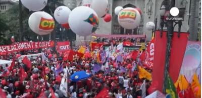 تصویر تهاجم سرمایه انحصاری به نیروهای مترقی در برزیل