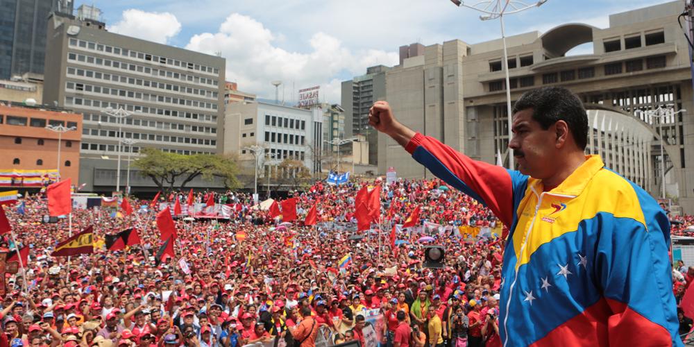 تصویر همبستگی با ونزوئلای بولیواری