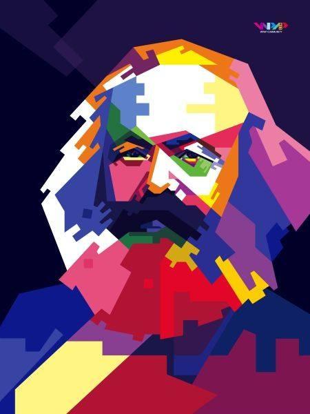 تصویر به مناسبت دویستمین سالگرد تولد مارکس :  نوشتهٔ نیکوس کاوزوپیس، عضو کمیتهٔ مرکزی و بخش ایدئولوژی حزب مترقی زحمتکشان قبرس (آکل)
