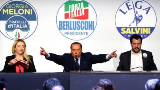 تصویر پیروزی راستگرایان ضدمهاجر در انتخابات ایتالیا!