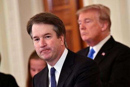 تصویر مخالفت گستردهٔ آمریکاییها با نامزد راستگرای پیشنهادی ترامپ برای قاضی دیوان عالی آمریکا