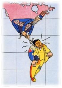 تصویر نگاهی به سیاستهای مداخلهگرانهٔ دولت ایالات متحده  آمریکا در آمریکای لاتین