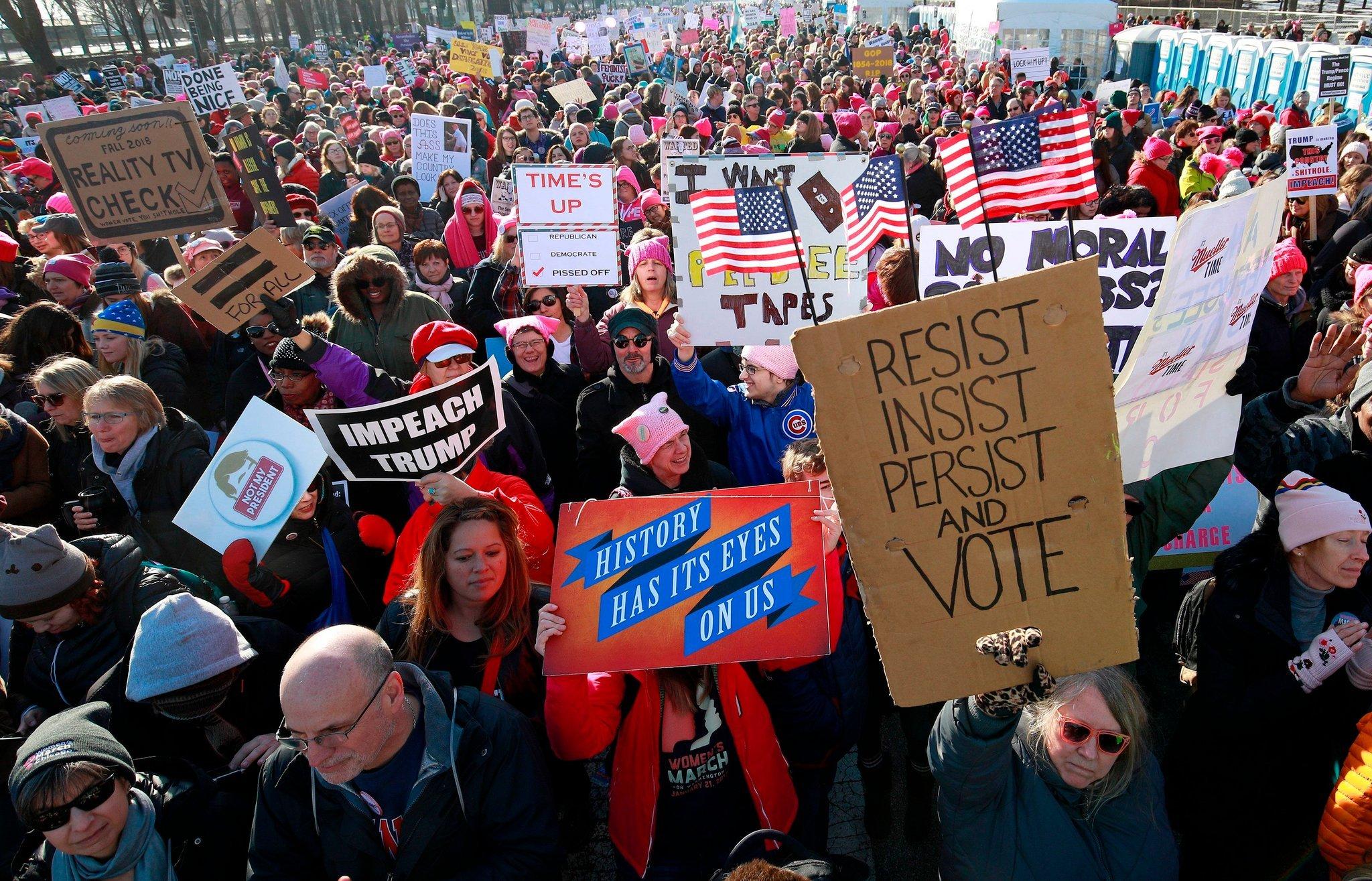 تصویر نتایج انتخابات میاندورهای آمریکا، و شکست جمهوریخواهان