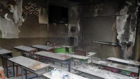 تصویر مدارسِ نا ایمن همچنان قربانی میگیرند