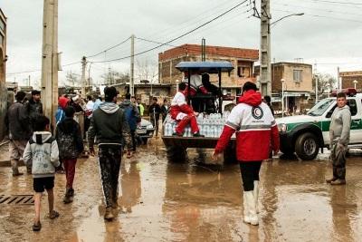 تصویر بحران در مناطق سیلزده