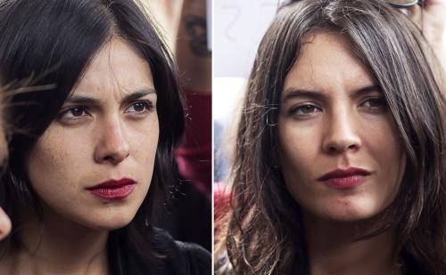 تصویر حضور دو قانونگذار کمونيست در تنظیم قانون کار شیلی
