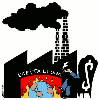 تصویر آیا مارکسیسم نگرشی پیرامون دگرگونیهای آبوهوایی دارد؟