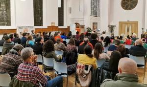 تصویر برگزاری مراسم روز جهانی زن در لندن