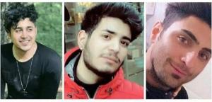 تصویر در محکومیت حکمهای انتقامجویانهٔ رژیم درمقابله با معترضان