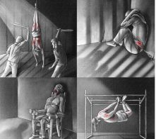 تصویر سازمان عفو بینالملل: به شکنجه بازداشتشدگان پایان دهید!