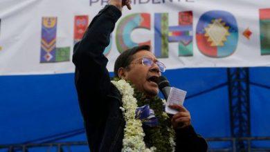 تصویر لوئیس آرسه کاتاکورا، رئیسجمهور جدید بولیوی: «ما میخواهیم دیکتاتوری را برای همیشه ریشهکن کنیم. مردم به نولیبرالیسم نه گفتند»