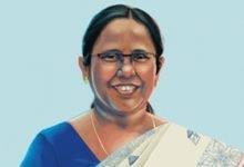 خانم ک. شایلاجا، وزیر بهداشت ایالت کرالای هند،