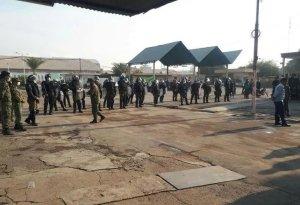 نیروهای امنیتی در هفت تپه