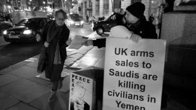 فروش اسلحه به عربستان برای حمله به یمن