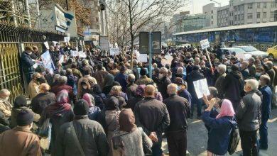 اعتراض بازنشستگان کشور