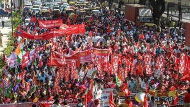 اعتصاب بزرگ کارگران هند