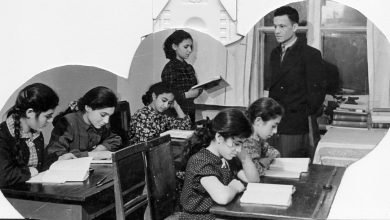 رفیق علی خاوری در مدرسۀ بین المللیِ شبانه روزی ایوآنووآ