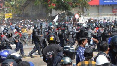کودتای نظامیان در برمه