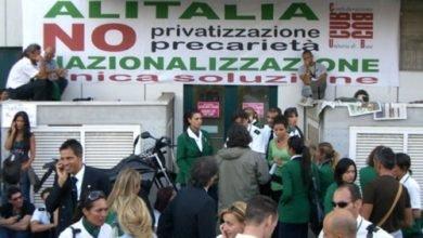کارگران خطوط هوایی ایتالیا